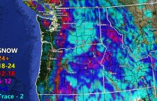 Rain and Snow Forecast Maps For WA/OR/ID Valid Now Through Friday Evening