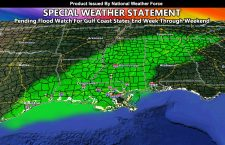 Special Weather Statement Issued For Gulf States Ahead Of Tropical System By End Week into The Weekend; Pending Flood Watch