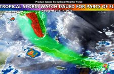 Tropical Storm Watch Issued For Parts Of Florida Ahead Of Tropical Storm Fred, Set To Affect The Watch Area Weekend Of August 14th, 2021